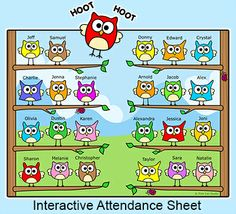 Superhero Attendance For Smartboards Promethean Or Mimo