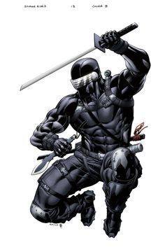 SnakeEyes StormShadow 13 cover B by spidermanfan2099.deviantart.com on @deviantART
