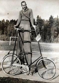 Bike vintage australia push