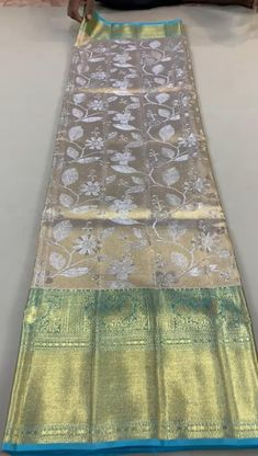 Kerala Saree Blouse Designs, New Saree Designs, Saree Tassels Designs, Wedding Saree Blouse Designs, Gold Silk Saree, Wedding Silk Saree, Bridal Sarees South Indian, Kanjivaram Sarees Silk, Traditional Silk Saree