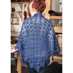 Ravelry: Cousteau crochet Shawl pattern by Doris Chan