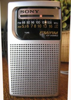 Right now this radio is on my desk. I am listening to jazz from WRTI on it.