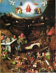 The Last Judgement (detail), 1500Hieronymus Bosch