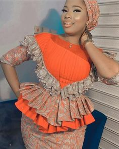 Best African Dresses, Latest African Fashion Dresses, African Inspired Fashion, African Print Fashion, African Attire, African Blouses, Diva, Outfit, Ankara Tops