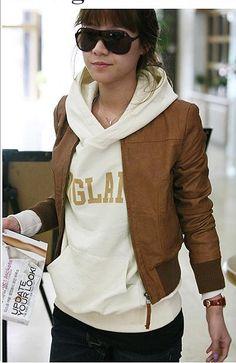9.73 dolares.en http://www.mujeres-jersey.com/goods-1119450-chaqueta-cafe-de-piel-de-moda.html