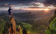 pôr do sol Pôr do Sol Islândia Max Rive 580x356