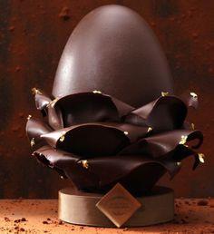 Pâques 2015, coups d'œufs cœurs chez les grands sucrés- #cafepouchkine -