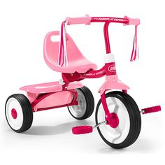 Radio Flyer Little Miss Flyer Fold 2 Go Tricycle - Radio Flyer - Toys R Us