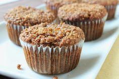 Delicious as it Looks: Gluten-Free & Grain-Free Banana Crumb Muffins (low-FODMAP)