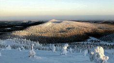 The Kainuu county, northeastern Finland. Kuusamo, Valtavaara & Konttainen Fells