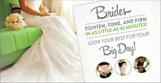 """Summer Bride? Skinny Wrap Now! Walk down the aisle with a tighter tummy, more toned thighs, a minimized midriff, and banished bat wings. Wherever you have loose skin or extra flab hanging about, Skinny Wrap will minimize it!! You've thought of every detail; now make sure your trousseau includes the It Works Skinny Wrap Text or Message me TODAY -or- Click """"SHOP"""" on my website and checkout as a Loyal Customer or Distributor! Jocelynh.myitworks. com 717.873.2365"""