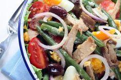 Salade niçoise allégée