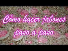 COMO HACER JABONES DECORATIVOS - YouTube