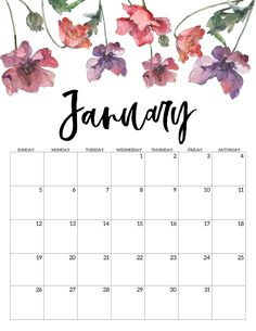 Calendrier Janvier 2020 Pinterest.12 Best Calendar Images In 2019 Calendar 2019 Printable