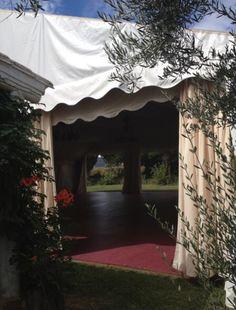 Carpa para #boda con suelo de tarima #proveedores