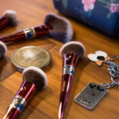 Luxie's Wonder Woman makeup brush collection