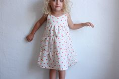 NEW summer days tiered dress / pdf sewing by toosweetspatterns, $5.95