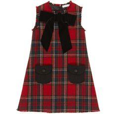 Dolce & Gabbana - Red tartan woollen dress - 40742