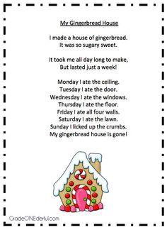 Poem Peppermint Stick From Grade Onederful Kindergarten