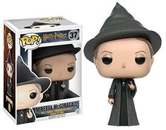 This is the Harry Potter POP Minerva McGonagall Vinyl Figure that is produced by Funko. Harry Potter fans are sure to be excited by this McGonagall Funko POP Vinyl figure. Professor McGonagall looks g Harry Potter Professoren, Harry Potter Pop Figures, Harry Potter Pop Vinyl, Objet Harry Potter, Pop Figurine, Figurines Funko Pop, Funko Figures, Pop Vinyl Figures, Collection Harry Potter