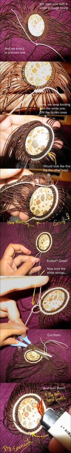 Tutorial part 2: Stone pendant by enenauta.deviantart.com on @deviantART