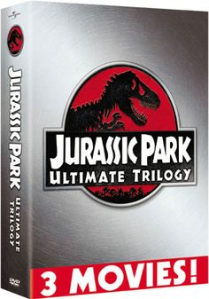 This three-pack features Steven Spielberg's JURASSIC PARK and THE LOST WORLD: JURASSIC PARK, as well as Joe Johnston's JURASSIC PARK III.