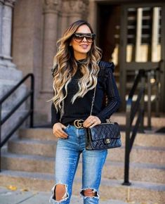 The cutest Fall Fashion 2018 Outfits from Fashion Influencers #fallfashion2018 #fall2018