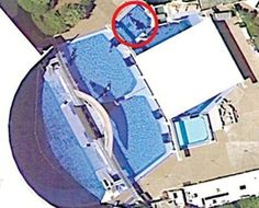 SeaWorld Orlando. Circled is Tilikum.  Quote: Those tanks don't look very big to me…just saying.  I followed a few people on my main blog (because they posted lovely animal photos) who claimed to adore animals…but all had the dream of working at seaworld…  I suppose they don't know that much about seaworld afterall :(