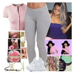 """Pretty Savage Princess"" by melaninmonroee ❤ liked on Polyvore featuring NIKE, Bulova and Bling Jewelry"