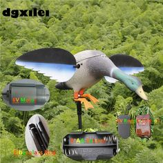 69.66$  Buy now - http://aliajd.shopchina.info/go.php?t=32805678861 - 2017 Xilei Free Shipping Dc 6V Highly Plastic for Duck Hunting Motorized With Stick For Hunting Shooting With Spinning Wings  #magazineonlinebeautiful