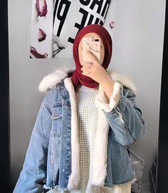 Winter Outfits, Casual Outfits, Cute Outfits, Hijab Shop, Hijab Fashion, Fashion Outfits, Teenage Outfits, Mode Hijab, Aesthetic Clothes