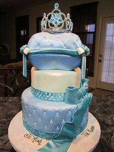 Cinderella cake Knyazeva Knyazeva Corbin can you make one of these? love it! Cinderella Sweet 16, Cinderella Birthday, Princess Birthday, Princess Party, Pretty Cakes, Cute Cakes, Beautiful Cakes, Unique Cakes, Creative Cakes