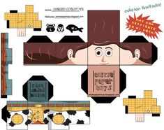 Woody Cubeecraft part one by ~snuffle12321 on deviantART