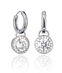 Earrings ORBIT DROPS (medium earrings) Pocket Watch, Drop, Personalized Items, Nice Things, Medium, Pretty, Earrings, Silver, Jewellery