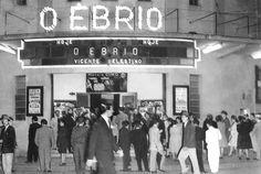 Cinemas de Curitiba - Cine Luz em 1950