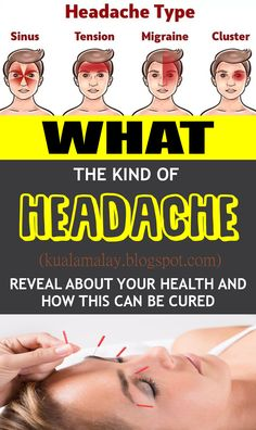 What Тhe Kind Of Headache Reveal About Your Health And How This Can Be Cured? Health Facts, Health Diet, Health Fitness, Health Exercise, Bone Health, Health Goals, Fitness Tips, Holistic Nutrition, Health And Nutrition