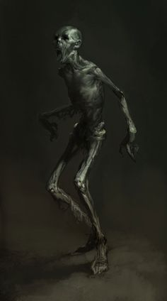 Lord of the Rings Wight Concept art for War of the North