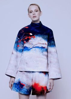 Jillian Boustred's artistic debut collection- great prints and colors