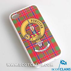 MacAlister Clan Crest iPhone Case