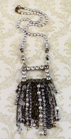 Rocker Fringe Necklace