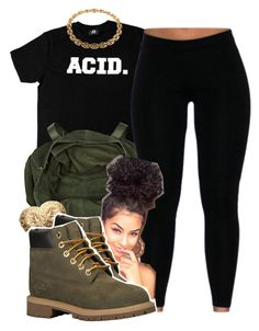 """ACID"" by lovebrii-xo ❤ liked on Polyvore featuring moda, River Island, Givenchy, Timberland e Cartier"