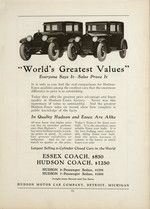 1925 University of Detroit Tower Yearbook #Hudson #Essex #Automobile