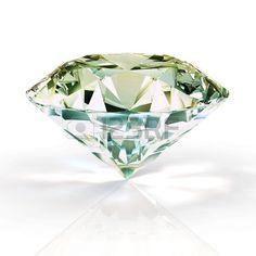 diamond isolated on white background - 3d render Stock Photo