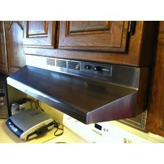 trendy broan economy inch twospeed nonducted range hood stainless with hotte ikea luftig. Black Bedroom Furniture Sets. Home Design Ideas