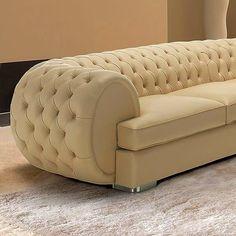 The Best 2019 Interior Design Trends - Interior Design Ideas Sofa Bed Design, Living Room Sofa Design, Bedroom Bed Design, Home Room Design, Living Room Furniture, Living Room Designs, Luxury Sofa, Luxury Furniture, Furniture Design