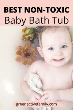 How to choose a safe non toxic baby bath tub for infants and toddlers. Baby newborn hacks to keep baby safe and healthy in a non toxic living environment at home. Enjoy these clever baby hacks for a safe bath tub time. The perfect non toxic baby shower gifts ideas. Parenting tips for new moms and natural living. Baby Hacks New Moms | Baby Hacks Life Hacks | New Baby Hacks | Baby Shower Gifts Best 2nd Baby, Mom And Baby, Baby Kids, Natural Baby, Natural Living, Parenting Tips, Kids And Parenting, Baby Tub, Baby Life Hacks