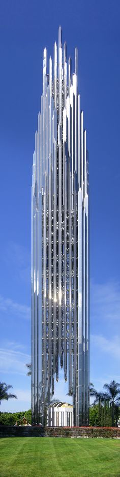Crystal Cathedral Spire, Garden Grove, Los Angeles, California designed by Philip Johnson Architect ::1981