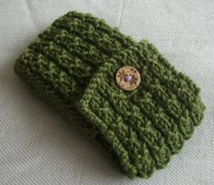 How To: Knit A Cell Phone Cover - Learn To Knit N Crochet