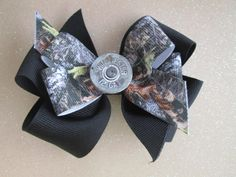 Bullet Hair Bow Winchester Boutique Hair Bow  by preciouscurls