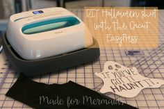 DIY Halloween Shirt with the Cricut EasyPress {plus review} ⋆ Made for Mermaids